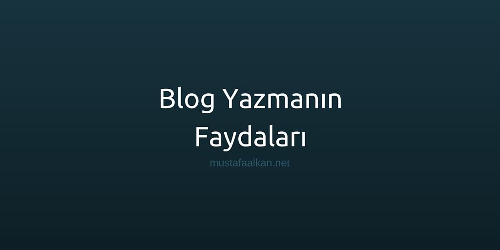 Blog Yazmanın Faydaları